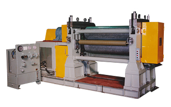 Steel match embossing machine